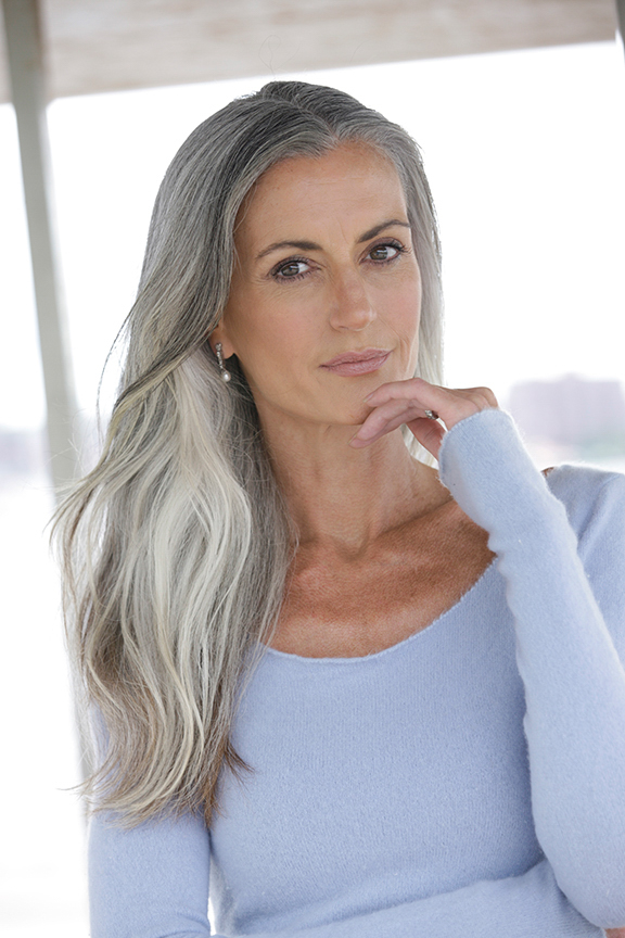 Grey Hair Natural Styles